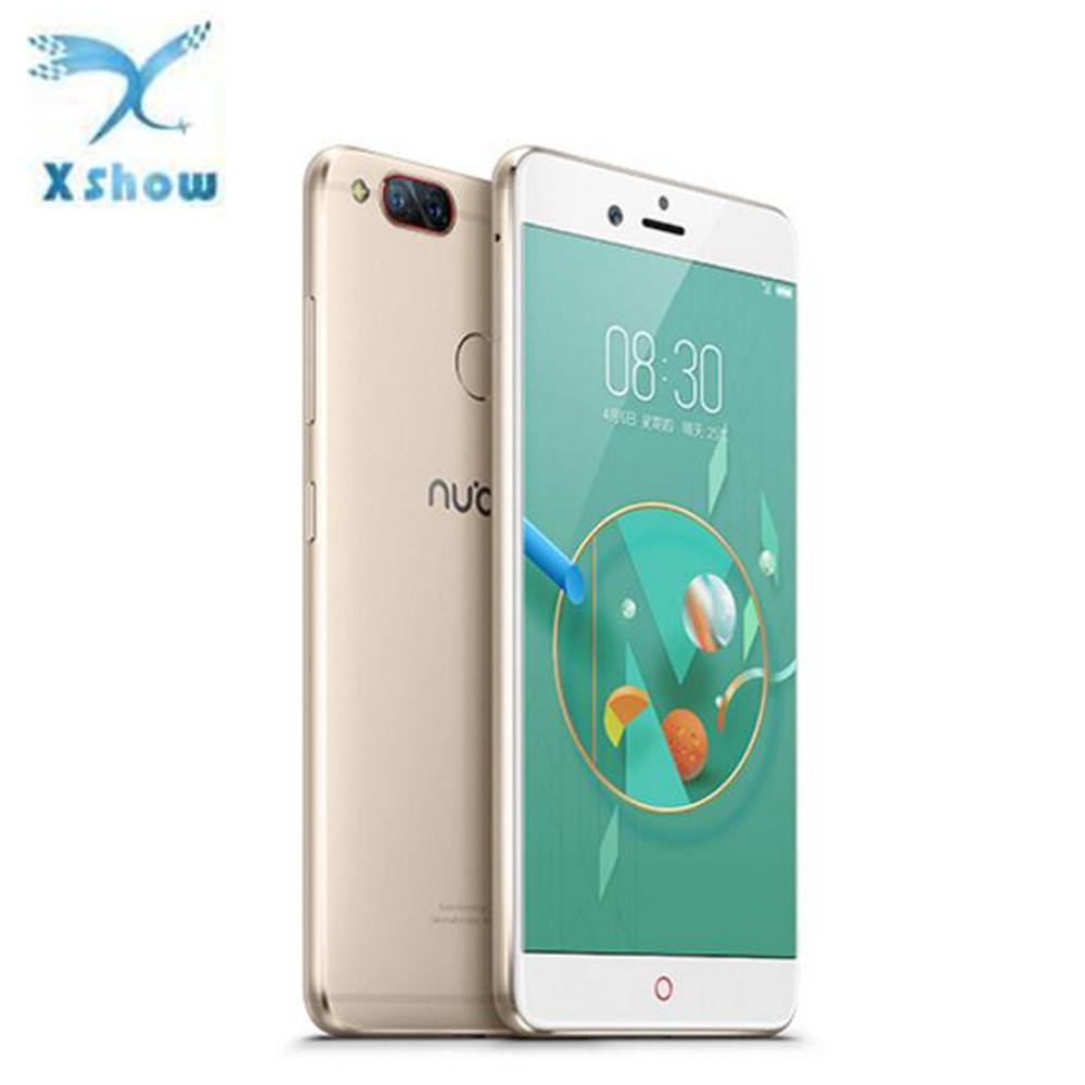 "Global Version Nubia Z17 Mini Mobile phone 5.2 4GB 64GB MSM8976 652 Octa Core Dual Back Camera Fingerprint 1920*1080 FHD"""