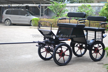 Beite horse carriage, pony horse cart for single and pair pony