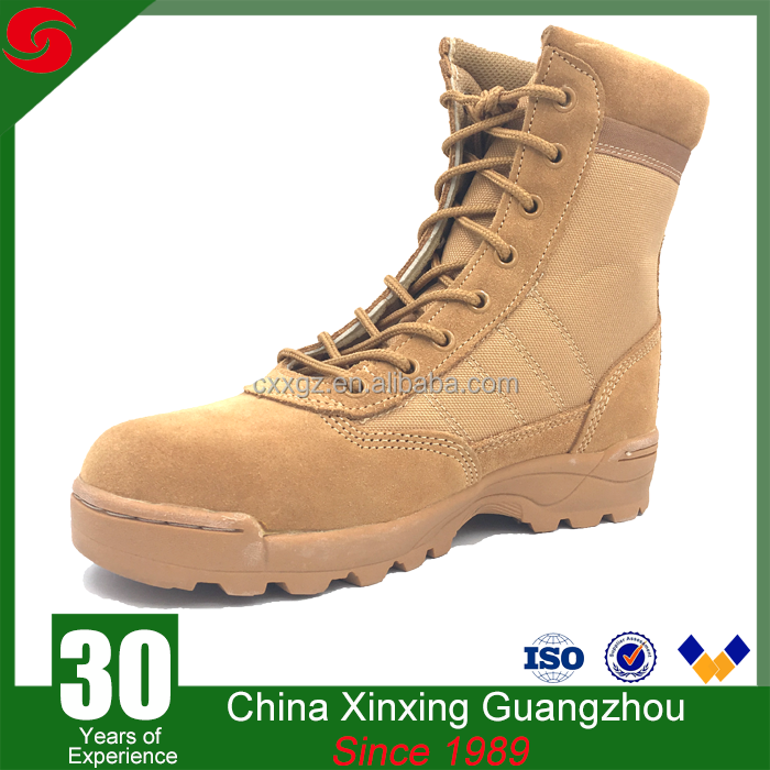 police army tactical fast delivery desert military boots wholesale