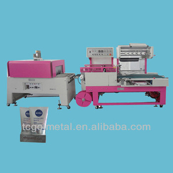 automatic silverware wrapping machine