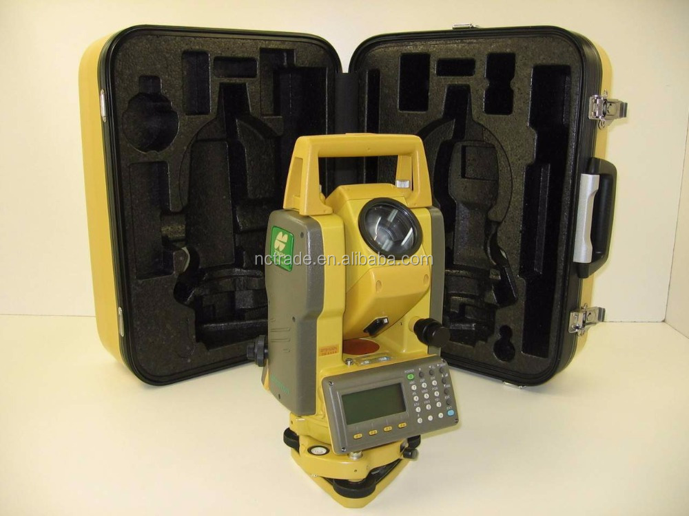 Professional high accuracy surveying equipment topcon GTS102N total station