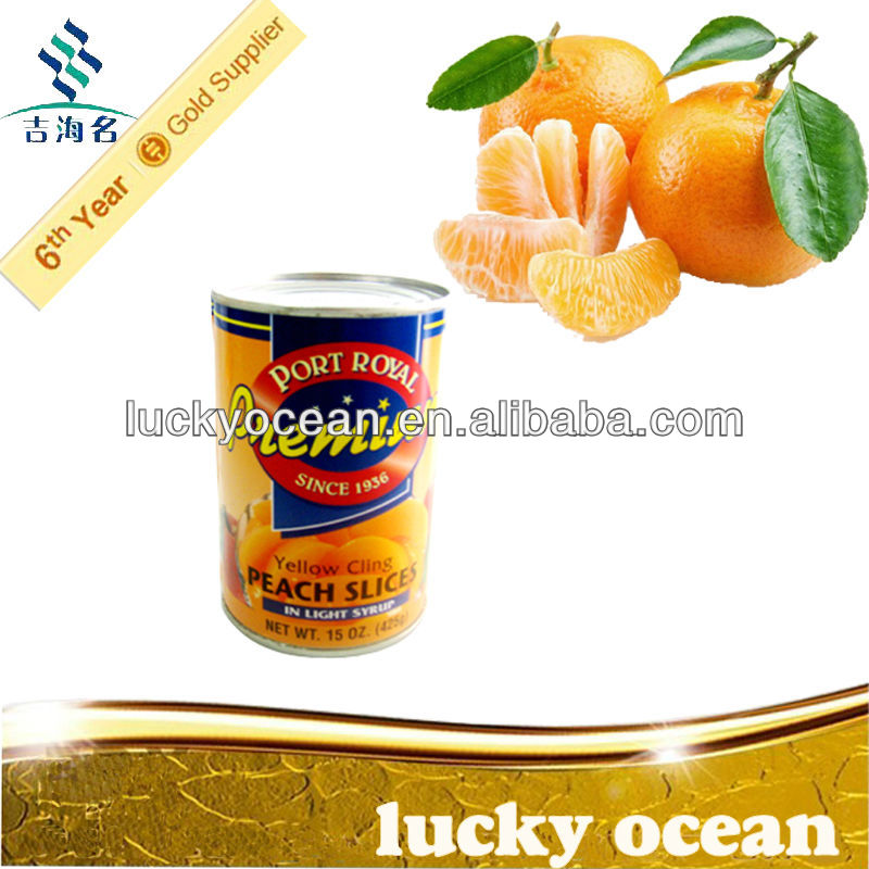 Chinese manufacturer and farm supply canned mandarin orange in syrup