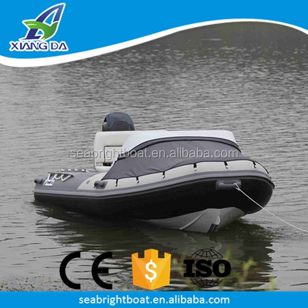 Aluminum Hull Material and CE Certification Australian Standard High Performance Luxury RIB Boat for Sale in Malaysia