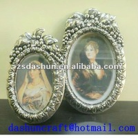 Ds-0040p European Style White Photo Frame Picture Frame