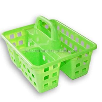 Plastic Shower Caddy Basket In Jiewei
