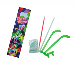Lighted Glasses Set With Popping Candy Glowing Fluorescent stick Toy Diy Party Toy