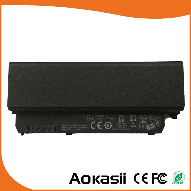 4Cells 14.8V 32Wh Original New Laptop Battery for Dell MINI 9 9N 910 A90 A90N W953G 312-0831 451-10690 451-10691
