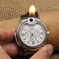 Fashion design USB gas lighter watch jewelry wholesale