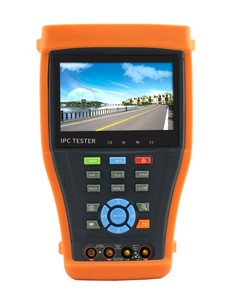 "CE FCC RoHS certification best quality 4.3"" CVI TVI AHD IP Network Analog CCTV camera tester monitor with cable tracer"