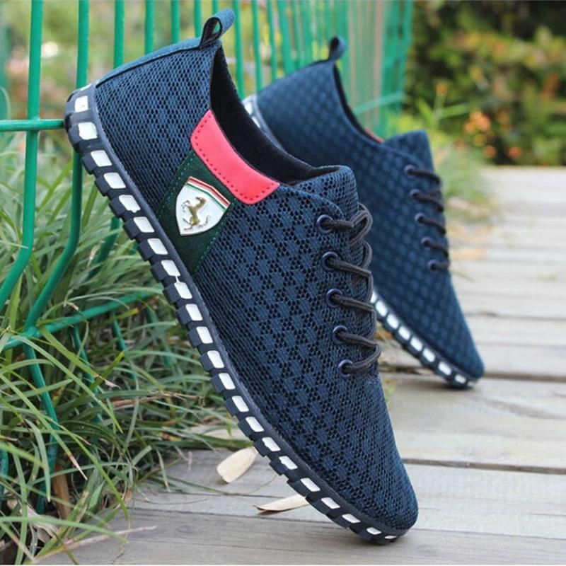 9d5098ec3df ... Nouvelles Réductions Promotionnelles 2016 Ferrarys Hommes Chaussures  Hommes Automne Occasionnel Respirant Chaussures plus Six choix de