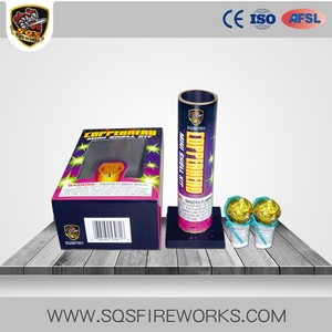 Wholesale reloadable shells pyrotechnics for sale mini mortar fireworks