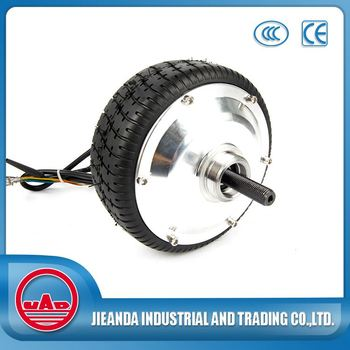 Dc Geared Brushless Wheel Hub Motor For Electric Scooter