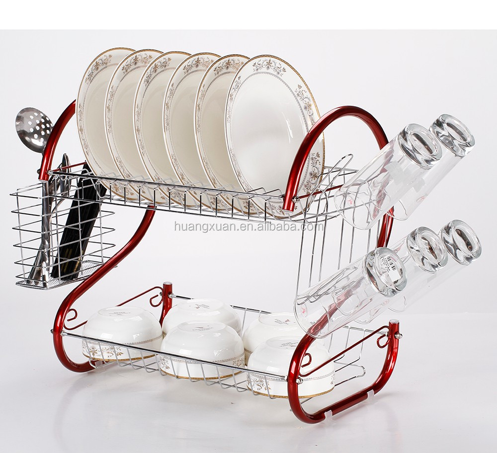 Powder Coated Steel Drinking Glass Holder Dish Rack Buy