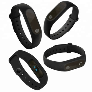 Image of Smart Wristband Fitness Bracelet MiBand Band 2 Big Touch Screen OLED Message Heart Rate Time for Xiaomi Mi Band 2