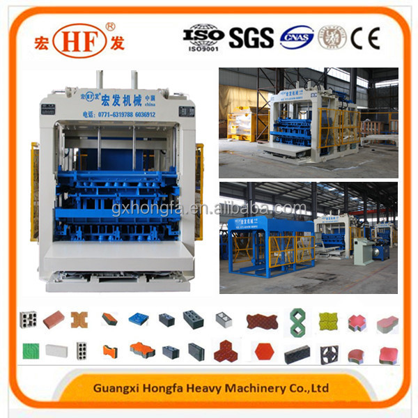 Price of Concrete Brick Machine with Hydraulic Forming Process Model HFB5230A