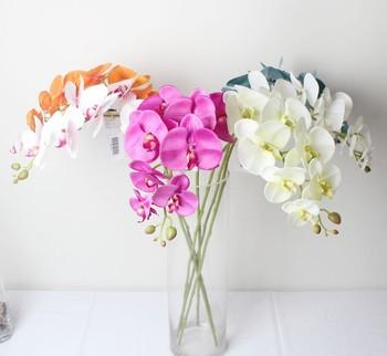 Fleurs Artificielles Orchidee Arrangement Fleur Artificielle Pot