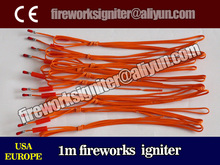 CE fireworks igniter to USA, EUROPE, wholesale 1m fireworks igniter,1000pcs/China fireworks/electric ignitor