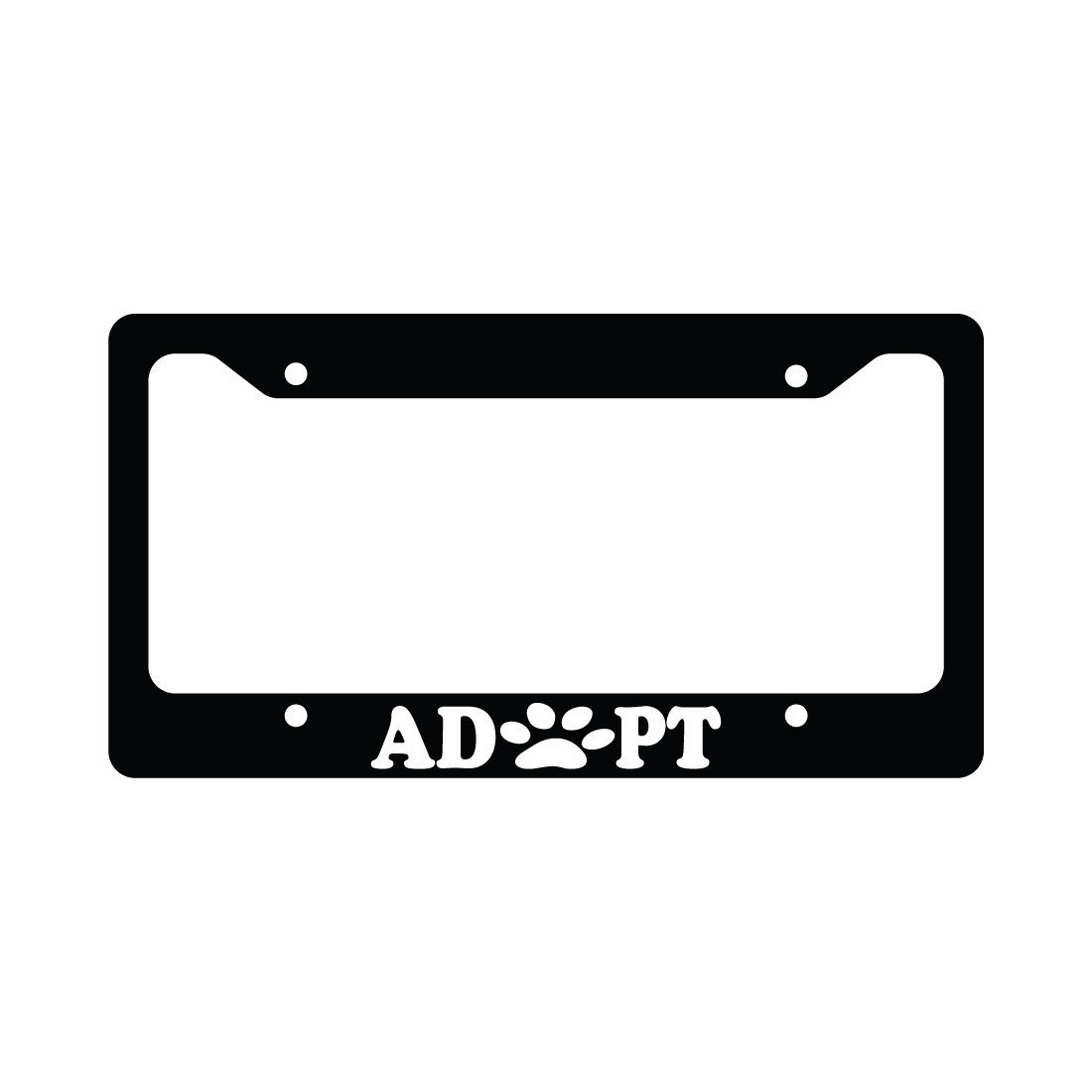 Cheap Paw Print License Plate Frame, find Paw Print License Plate ...