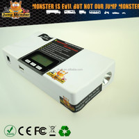 fashion power bank jump starter for lithium ion battery 12v vehicles