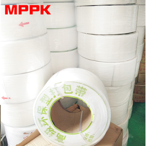 Custom belt White Polypropylene PP Band Strap for semi automatic machine