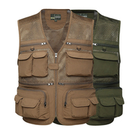 Customized Camouflage Shooting and Hunting Vests