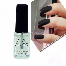 A-NAIL Hot 6ML Super Matte Transparent Nails Polish Top Coat Frosted Surface Oil Nail Art For Women Beauty