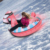 Winter Durable Inflatable Pvc Snow Tube Thicker Cold Resistant Snow Sled