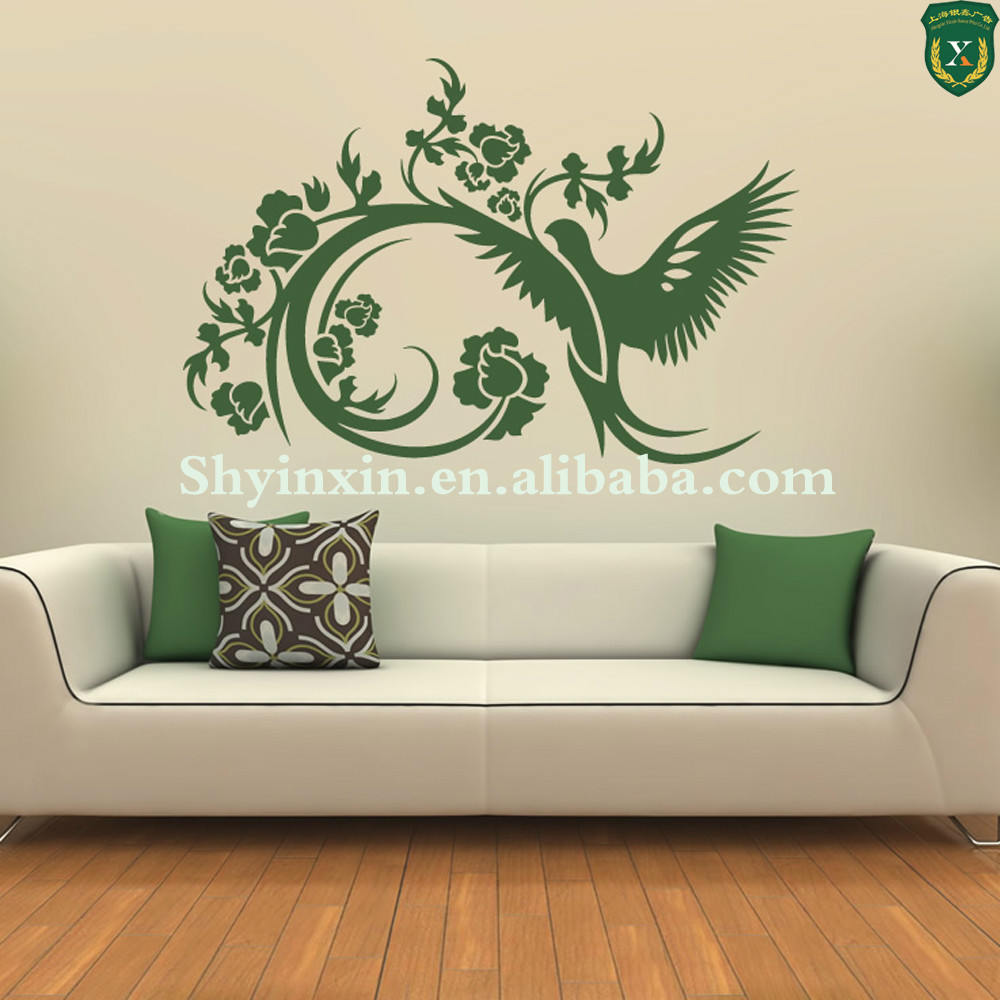 party decorations removable wall decals bathroom waterproof china kitchen wall sticker buy. Black Bedroom Furniture Sets. Home Design Ideas