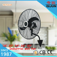 High density grills /Heavy base industrial wall mounted fan with power consumption