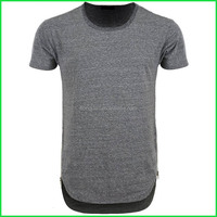Fashionable high quality design men big size clothing or deal men s clothing and zip t-shirt with round collar made in China