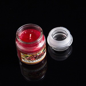 China candle factory hot selling small size various flavors wax aroma candle,2.5oz