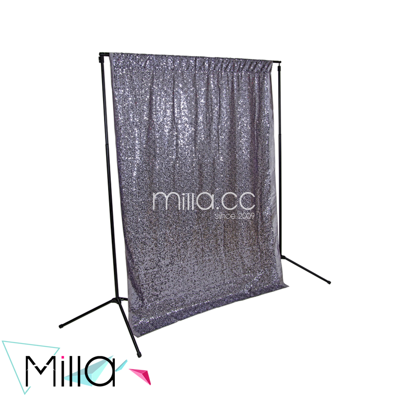 Sequins wedding stage backdrop decoration