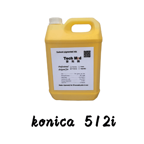 High qualityr Human Printing ink for konica 512I solvent ink for konica 512I 30PL solvent ink