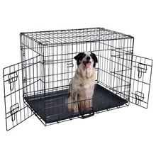 Direct factory wire metal folding steel dog cage
