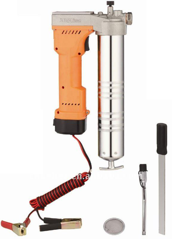 Electric Grease Gun >> Dc12 24volt Cordless Electric Grease Gun Buy Cordless Electric Grease Gun Heavy Duty Battery Grease Gun Battery Grease Gun Kit Product On