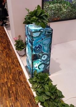 PFM Agate Pillars Decorative Pillars For Homes House Pillars Designs
