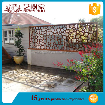 Alibaba Factory Custom Laser Cut Metal Fencing Panel,Modern Laser Cut  Panel,Garden Fence Laser Cutting Used For Wall Compound - Buy Garden Fence  Laser