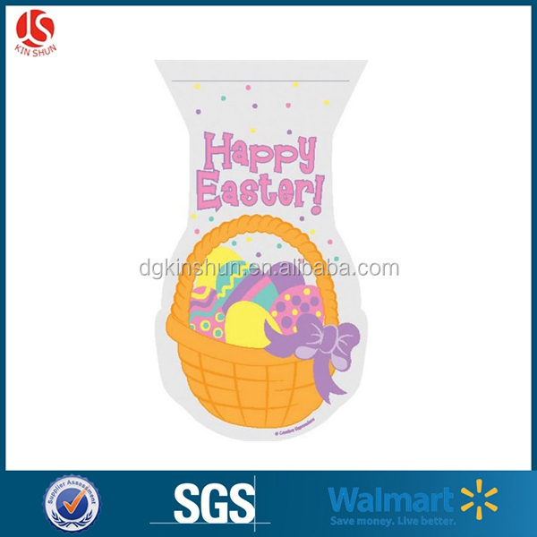 Easter Treat Candy Bag In Rabbit Shaped 20 Pcs Packaging
