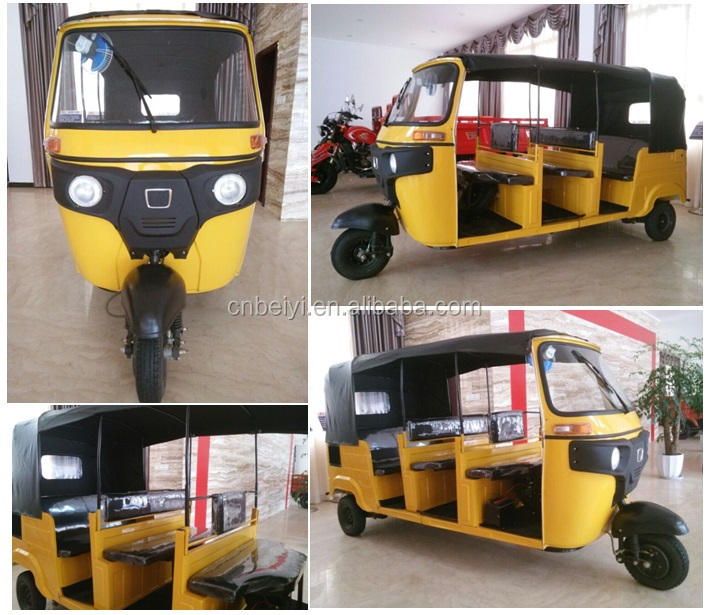 new South Africa 300cc ISO9001 bajaj spare parts pulsar 220 taxi passenger tuk tuk for sale