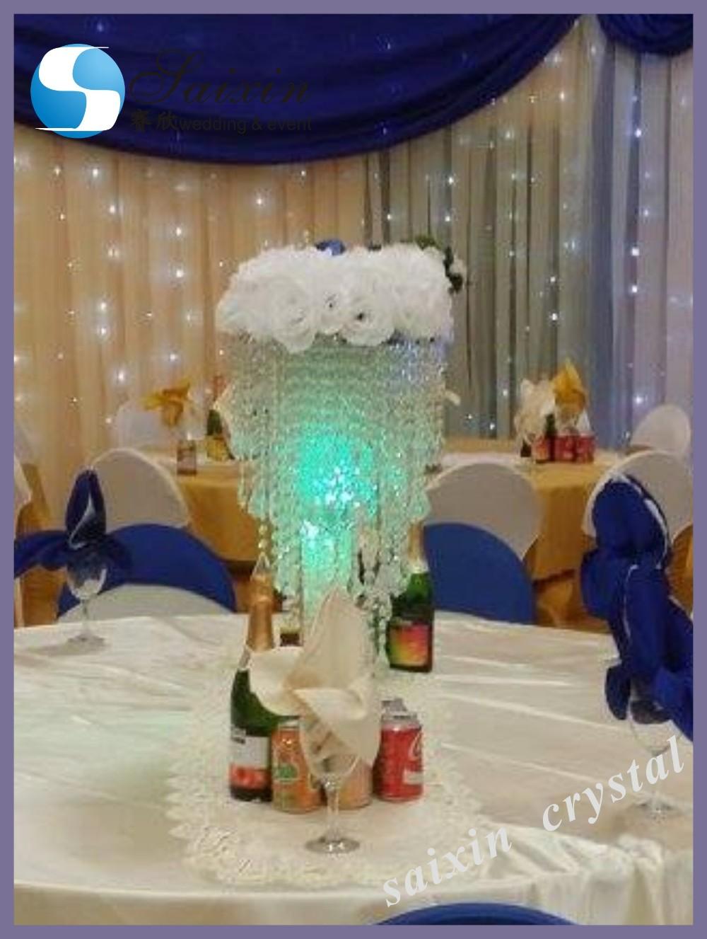 Beautiful Crystal Wedding Decorations Light Vase Zt 122s Buy