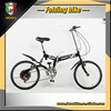 20 size cheap steel folding bike with suspension 20 pocket bike