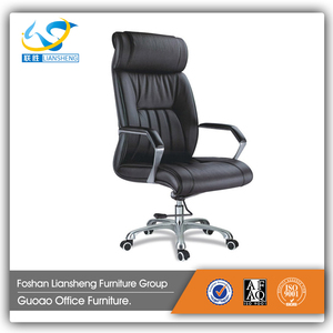 High Quality Black Swivel Double Leather Padded Recliner Executive Office Chair for Sale CA773