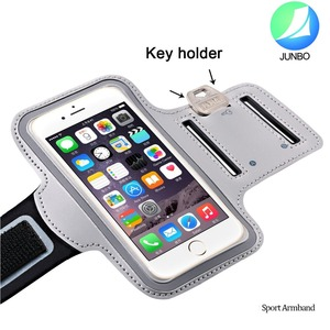 New Mobile Phone Accessories Key Pocket Sport Armband Pouch Case For iphone 6 plus