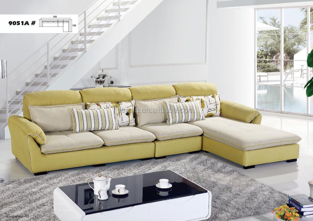 2017 Muebles De Sala Justo Sof Belleza Esquina Sof De