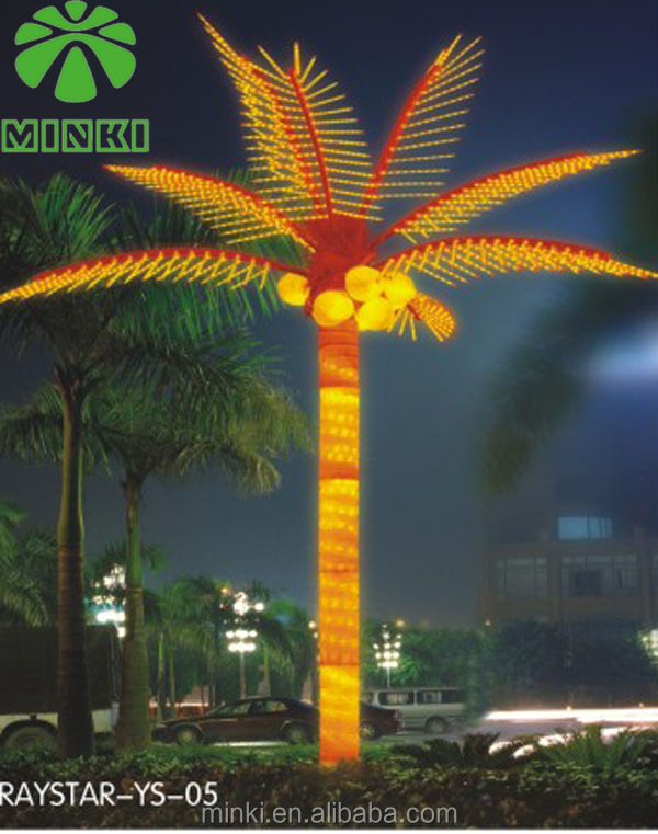 Outdoor Light Up Palm Tree Part - 34: Outdoor Lighted Palm Tree, Outdoor Lighted Palm Tree Suppliers And  Manufacturers At Alibaba.com