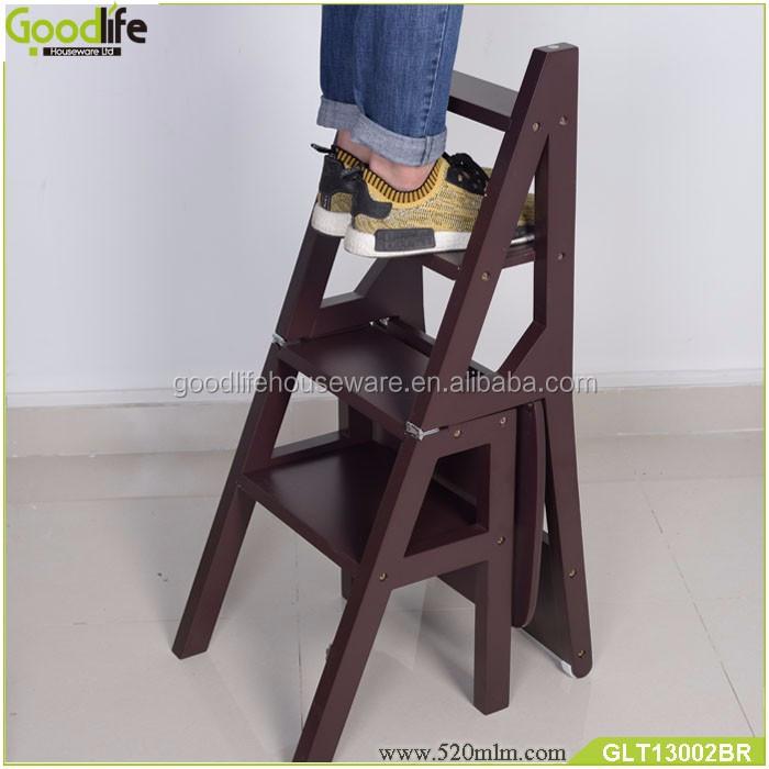chaise Escabeau D'échelle Échelle Pliant Massif Chine Fournisseur Bois Chaise En Bois Buy chaise D'échelle Pliante FK1TlcJ3