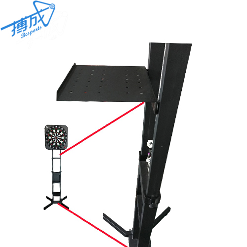 Portable Metal Dartboard Stand with adjustable Foldable height