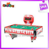 Qingfeng indoor entertainment games for kids 2 in 1 air hockey table with pool table
