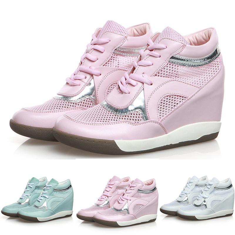 Buy Hidden Wedge Heel Sneakers Women