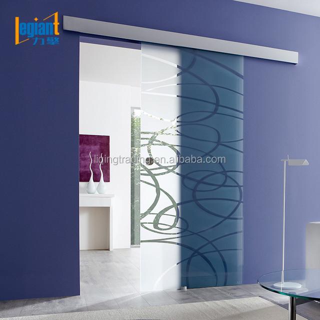 Glass Sliding Door Aluminum Front